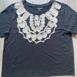 TopShop Black shirt size small